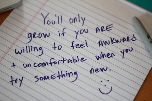 Feel Awkward