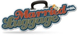Married with Luggage Logo - Warren & Betsy Talbot